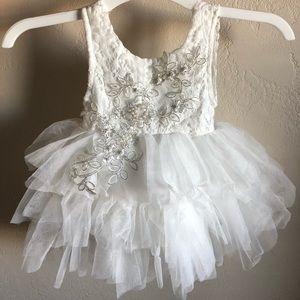 3ec74ffb289 Topmaker Dresses - Backless A-line Lace Back Flower Girl Dress